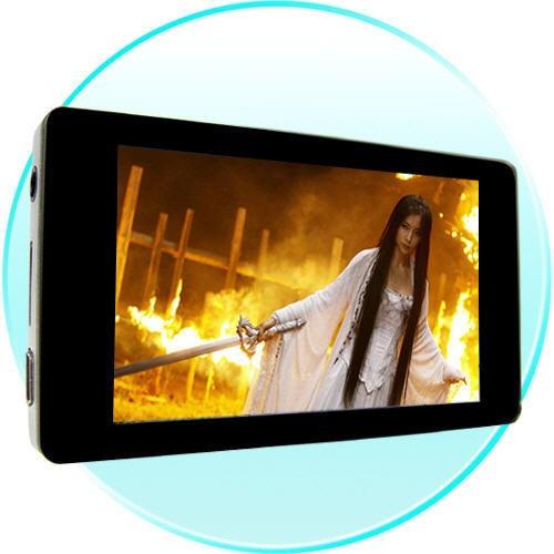Glossy Black Super Style 4Gb MP4 Grotuvas (3'' LCD)