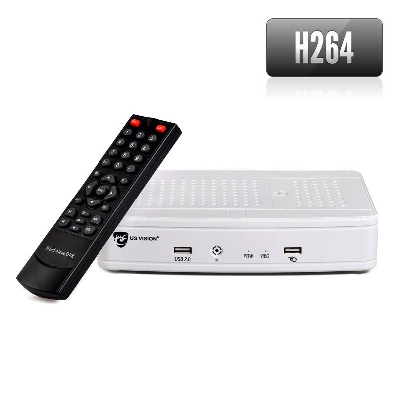 NVR 4 Kanalų IP Kamerų Įrašymo Įrenginys (ONVIF, 1080p, HDMI, H.264 Vaizdo suspaudimas)