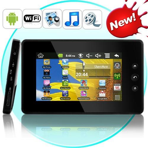 """Planšetinis Kompiuteris PocketDroid (Žaidimai, MP3, MP4, Android 2.2, WiFi, 4.3"""" LCD)"""