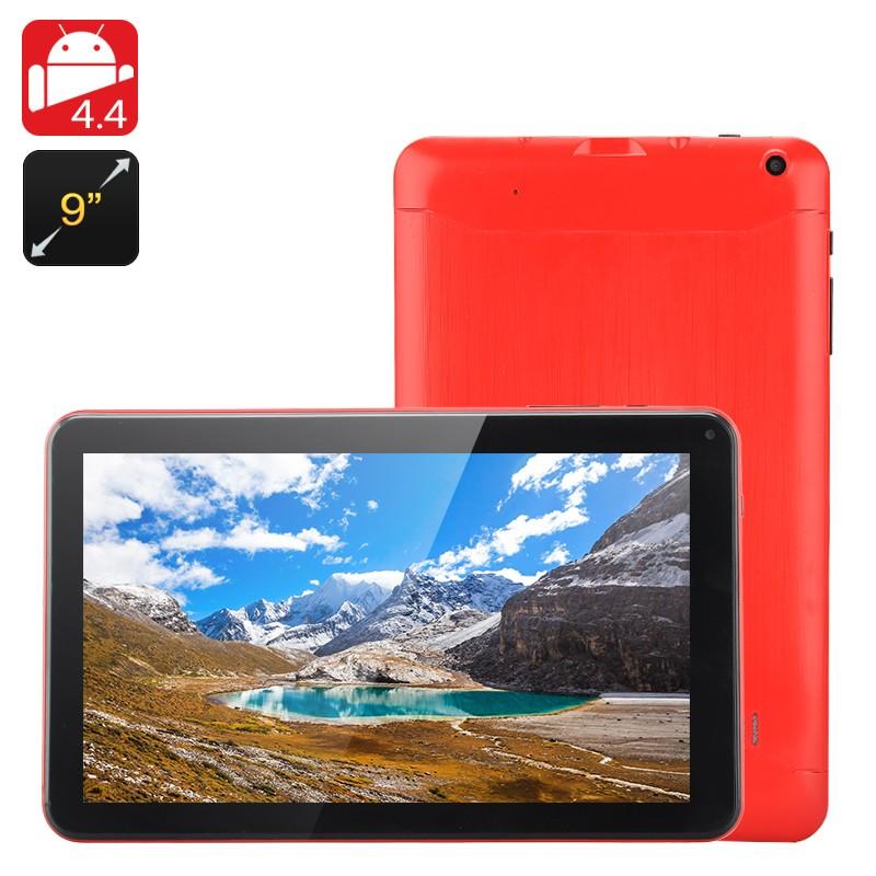 """Planšetinis kompiuteris """"IOTA"""" - 9"""" Ekranas, Android 4.4, 8Gb Atmintis, Micro SD, 1.3GHz Quad Core CPU, 512Mb RAM"""