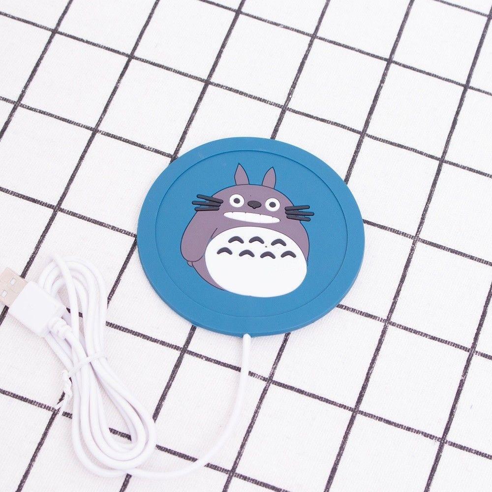 Silikoninis USB Puodelio Šildytuvas (Su Pokemon Totoro)