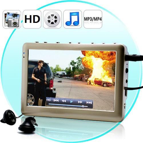iMedia HD 8Gb MP4 grotuvas 4.3 Inch Screen - Silver