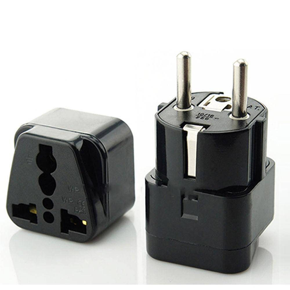 Rozetės Kištukas-Adapteris (iš AU, UK, US į EU)