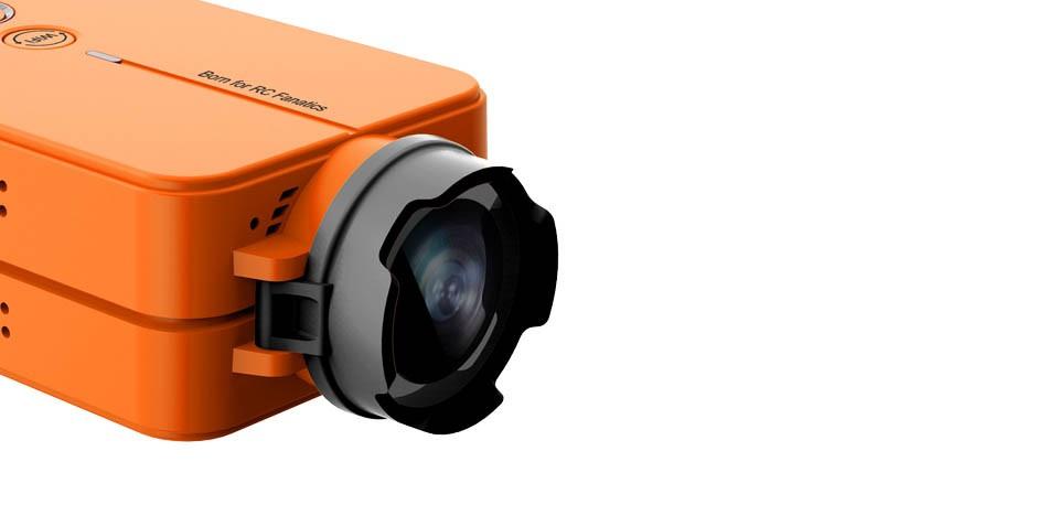 Runcam2 Mini Kamera (HD 1080P, Wifi, FPV, 120' Filmavimo kampas)
