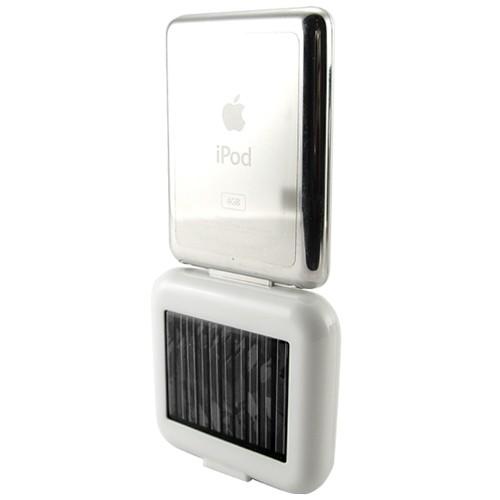 Saulės Baterijos Pakrovėjas Iphone Ir Kitiems Telefonams 1350mAh