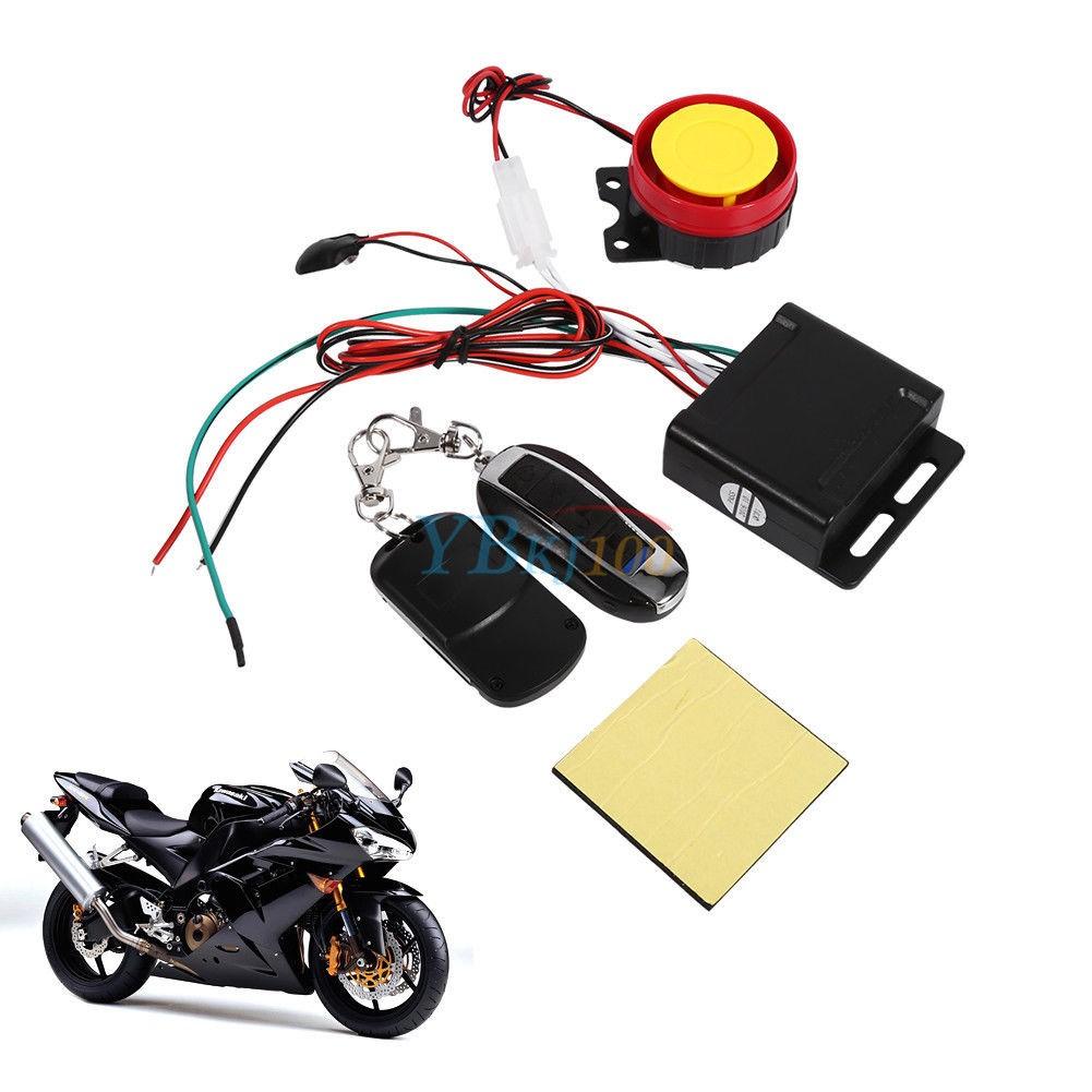 Signalizacija Motociklui (12V, 2 Pulteliai)