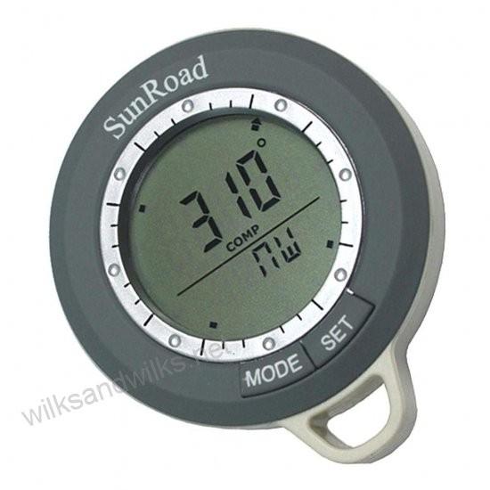Skaitmeninis Kompasas Su LCD Ekranėliu