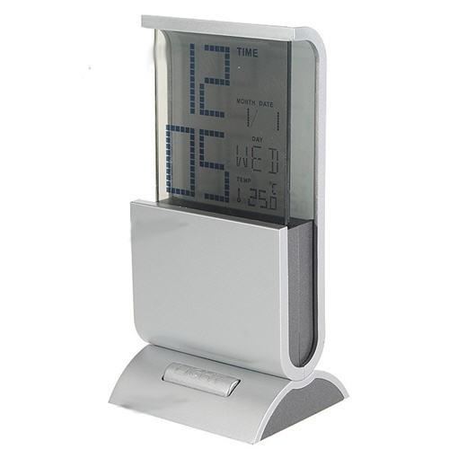 Skaitmeninis Laikrodis Su Elektroniniu Termometru ir RGB Šviesa