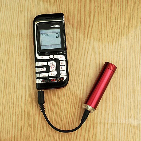 Avarinis Mobiliojo Telefono Įkroviklis Iš AA Baterijos