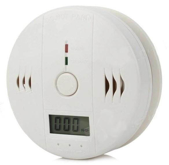 Smalkių Detektorius - Carbon Monoxide Alarm (85dB Garsinis Signalas)