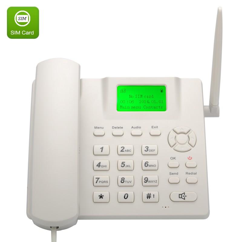 """Belaidis Stalinis GSM Telefonas (SIM lizdas, 2.4"""" LCD, Li-ion baterija, skambučio numerio rodymas, hands free funkcija)"""