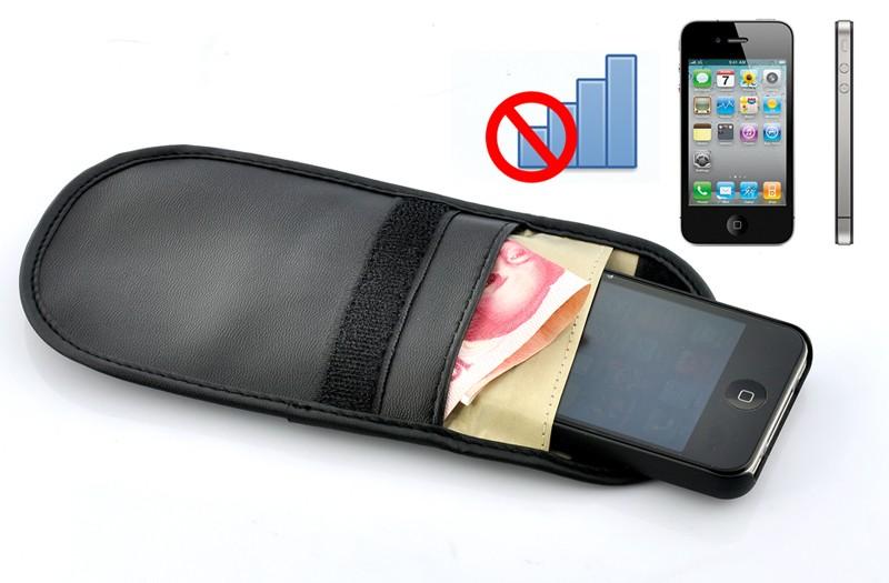 Mobiliųjų telefonų blokavimo įdėklas (10,4x9,5 cm, Blokuoja visus telefono signalus)