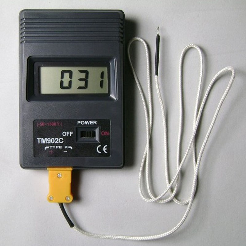 Skaitmeninis Termometras K-Tipo Su Termopora  -50°C +350°C