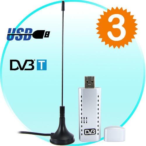 DVB-T USB Skaitmeninės TV Imtuvas Kompiuteriui - Digital TV Stick