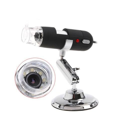 Skaitmeninis USB mikroskopas (20x-800x didinimas)