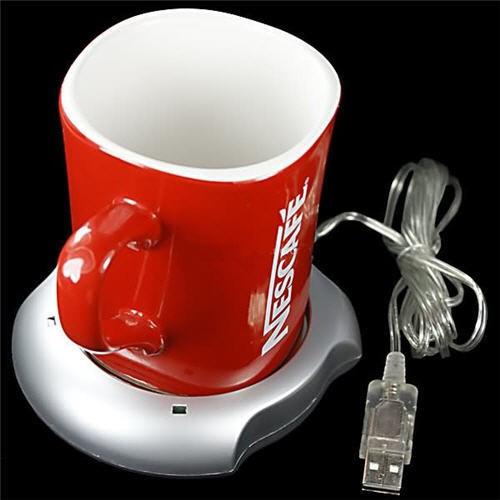 USB Puodelio (Kavos, Arbatos) Šildytuvas