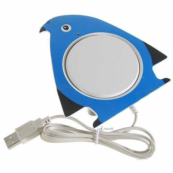 USB Šildytuvas Puodeliui - Pingviniukas