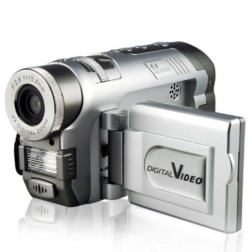 3.1MPx Video kamera su MP3 grotuvu ir 32MB vidine atmintimi