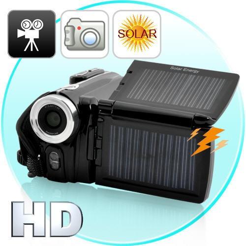 HD Vaizdo Kamera Su Saulės Baterijomis (720P HD)