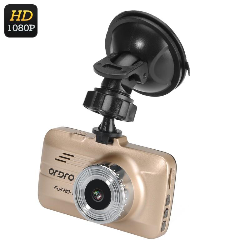 """Vaizdo Registratorius """"Ordro full HD"""" - 720p HD, 120 Filmavimo kampas, Judesio aptikimas, 2,7"""" ekranas"""