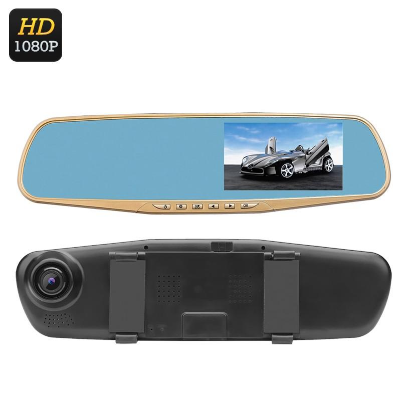 """Vaizdo Registratorius """"Ordro T1"""" - 12MPx 1080p, G-Sensorius, 4.3"""" LCD Ekranas, 170' platus filmavimo kampas"""
