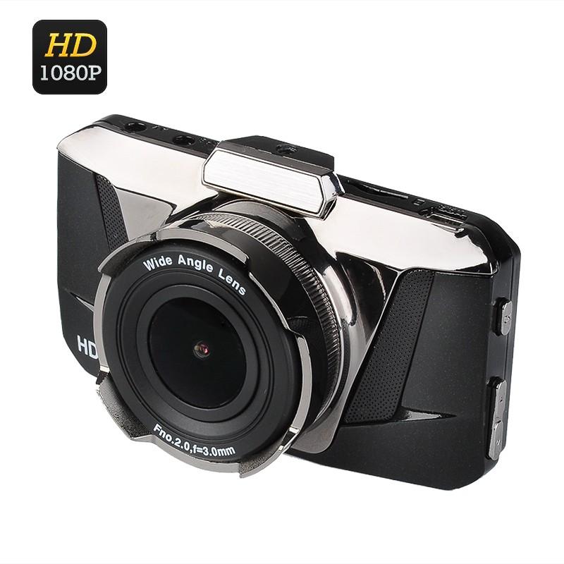 Videoregistratorius Full HD Car DVR - 1080p, 170° filmavimo kampas, G-Sensorius, Judesio aptikimas
