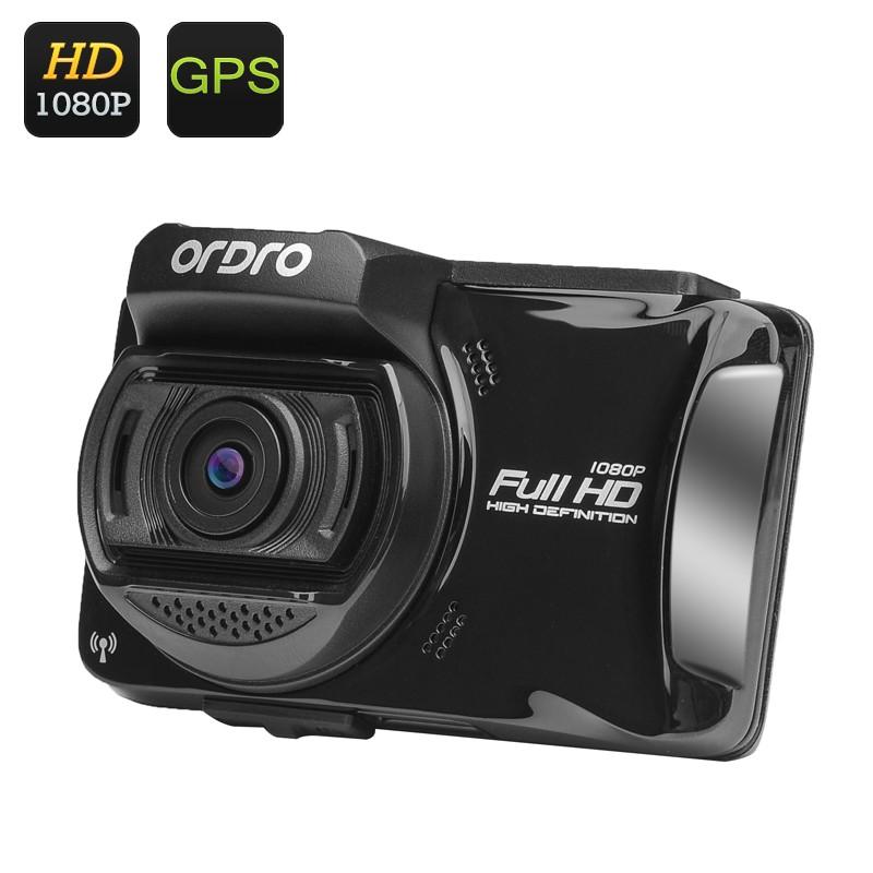 """Vaizdo Registratorius """"Ordro X5"""" - Full HD 1080p, 2,7"""" ekranas, 130° filmavimo kampas, G-sensorius, WiFi, GPS, Touch Screen"""