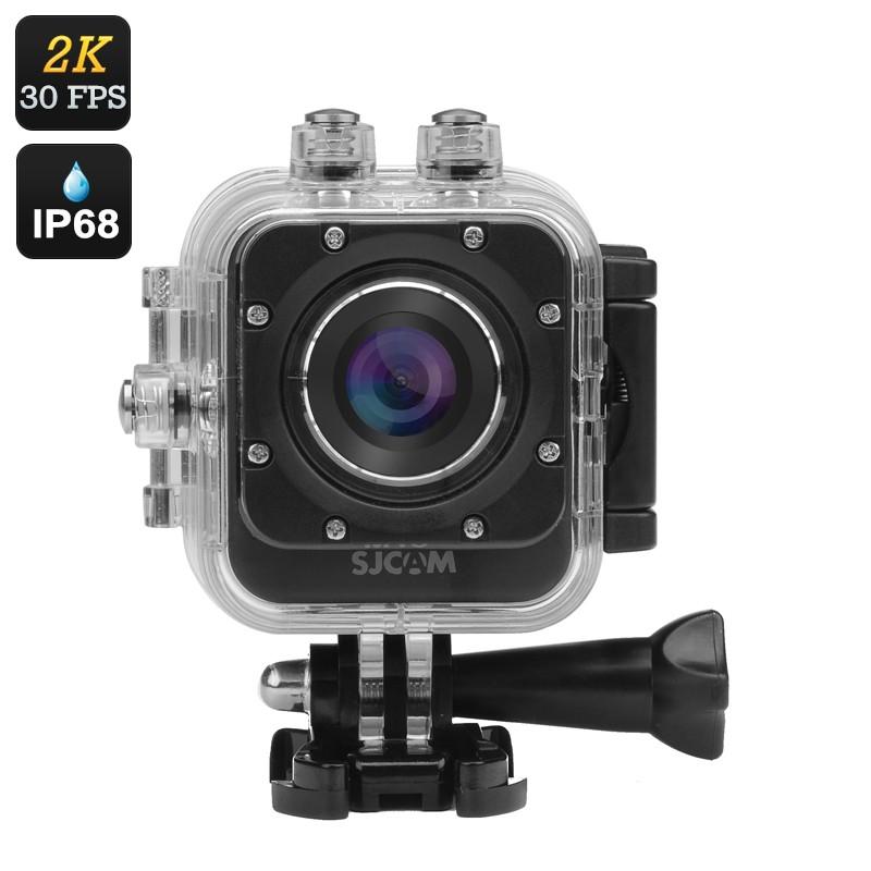 """Veiksmo Kamera """"SJCAM M10 PLUS"""" - 2K 30FPS, 12MP, 170° filmavimo kampas, Waterproof, 1,5"""" Ekranas, Wifi, HDMI"""