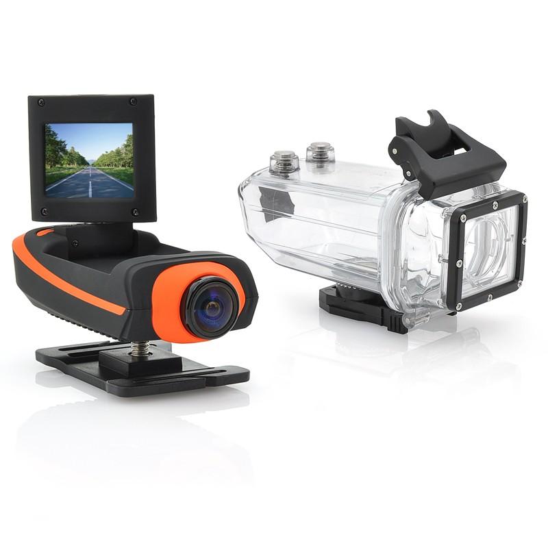 "Veiksmo Kamera ""ProView HD II"" (1080p Full HD, Atspari Nardymui iki 15m)"