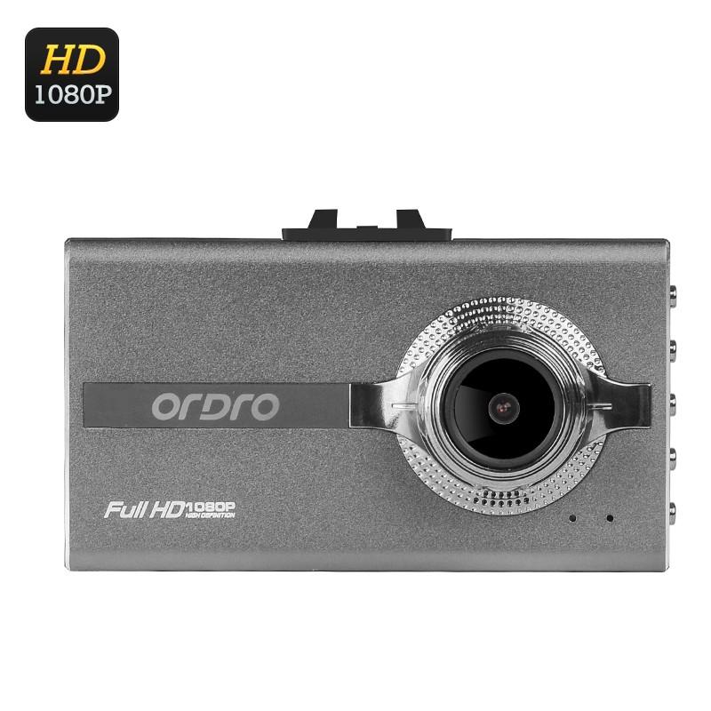 "Vaizdo Registratorius ""Ordro Q303"" - 1080p FHD, 3"" ekranas, 140° filmavimo kampas, G-sensorius"