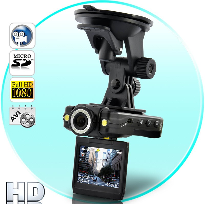 Videoregistratorius Eagle Dash Cam - 1080p Full HD (HDMI, SD, Motion Detection)