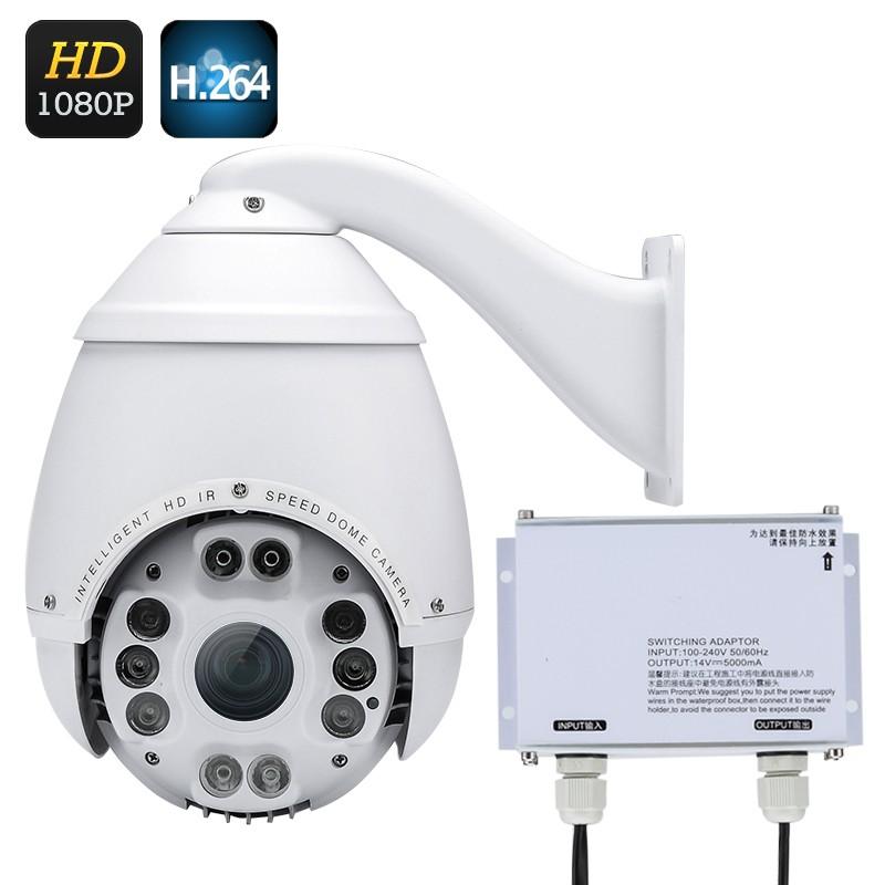 IP67 Įvairioms Oro Sąlygoms Atspari HD Kamera Speed Dome