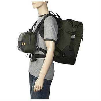 Žvejybinė Dviguba Kuprinė PrecisionPak Lincoln Fly-Fishing Dry Chest Pack