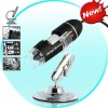 USB Skaitmeninis Mikroskopas 400x Didinimas + 8 LED Apšvietimas