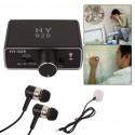 Profesionali Pasiklausymo Blakė Per Sienas (20000x Garso Stiprinimas + Stetoskopas)