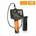 "Endoskopinė Kamera Su Ekranėliu 7.6mm (3M laidas, 1280x720 HD, 4,3"" LCD, 32Gb Micro SD, Li-ion baterija, IP67)"