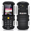"""Atsparus Smūgiams Telefonas """"Mann Zug S"""" (2"""" ekranas, IP67, 2570mAh baterija)"""