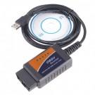 USB Autodiagnostikos Kabelis ELM327  V1.5 OBD2 OBDII CAN-BUS