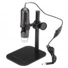 Skaitmeninis USB Mikroskopas (1000x Artinimas, 8LED, Videos + Photos, 1280x1024 raiška)