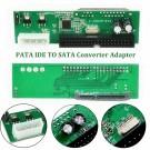 SATA to PATA Adapteris (Tinka SSD HDD, 7+15 pin SATA į 40 pin IDE)