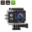 """1080p Veiksmo Kamera Su Wi-Fi (12MP, 140° filmavimo kampas, 1,5"""" LCD, Waterproof 30M)"""