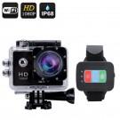 "Veiksmo kamera su pulteliu ""Q3"" Full HD 1080P - 170°, 12MP, 2"" LCS, Wi-Fi, iOs+Android App (Juoda)"
