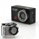 "Veiksmo Kamera ""SportsCam"" Su Nuotoliniu Valdymu - Full HD 1080p, 5MPx, Waterproof 15M"