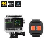 """Ultra HD 4K Veiksmo Kamera """"Clarion"""" - 20MP, 170° filmavimo kampas, DVR, WiFi, iOS+Android apps"""