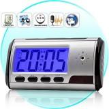 Slapta Kamera - Laikrodis (su valdymo pulteliu ir judesių detektoriumi)