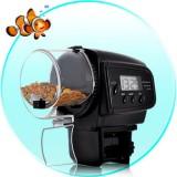 Šėrykla Akvariumui. Automatinė Žuvų Šėrykla (Su LCD Ekranėliu)
