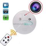 Slapta Kamera - Dūmų Detektorius Su Pulteliu (1280x960, 30FPS, iki 16Gb Micro Sd)