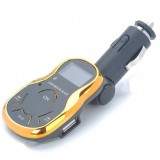 FM Moduliatorius Orange Su Pulteliu 4-in-1 (USB, TF Card, Micro SD)
