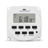 Sinotimer Tm618H-2 220V Ac Digital Time Switch Output Voltage 220V 7 Day We B1O2