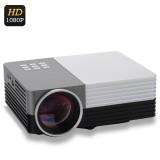 "Mini LED Projektorius (1080p, 3.5"" LCD, 80 LUMEN, 500:1, HDMI, USB, AV, VGA)"